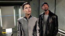 A still #8 from I, Robot with Bridget Moynahan and Will Smith
