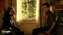 A still #3 from Ender's Game with Abigail Breslin and Asa Butterfield