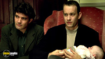 A still #6 from Philadelphia with Tom Hanks and Antonio Banderas