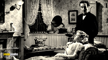 A still #5 from Kind Hearts and Coronets with Dennis Price and Joan Greenwood