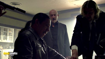 A still #8 from Bullet (2014) with Jonathan Banks and Danny Trejo