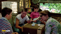 A still #4 from Stand by Me with Corey Feldman, Wil Wheaton and River Phoenix