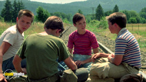 A still #7 from Stand by Me with Wil Wheaton and River Phoenix