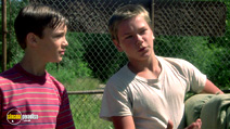 A still #9 from Stand by Me with Wil Wheaton and River Phoenix