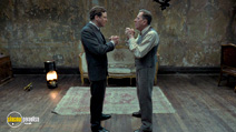 A still #2 from The King's Speech with Geoffrey Rush and Colin Firth