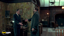 A still #9 from The King's Speech with Geoffrey Rush and Colin Firth