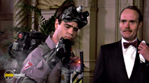 A still #16 from Ghostbusters with Dan Aykroyd and Michael Ensign