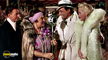 A still #13 from Singin' in the Rain with Gene Kelly, Jean Hagen and Donald O'Connor