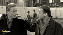 A still #10 from Wings of Desire with Otto Sander and Bruno Ganz