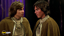 A still #2 from Battlestar Galactica (1978) with Dirk Benedict and Richard Hatch
