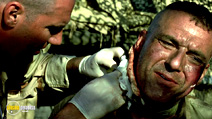A still #2 from Black Hawk Down with Tom Sizemore
