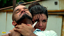 A still #7 from In the Blood (2014) with Amaury Nolasco and Gina Carano
