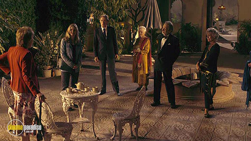 The Second Best Exotic Marigold Hotel online DVD rental
