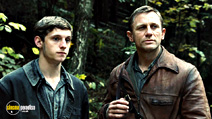 A still #9 from Defiance with Daniel Craig and Jamie Bell
