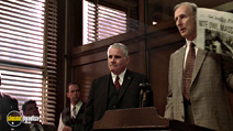 A still #7 from L.A. Confidential with James Cromwell and John Mahon