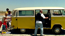 A still #15 from Little Miss Sunshine with Steve Carell, Paul Dano and Alexandria Alaman