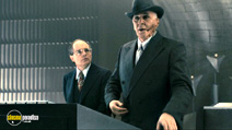 A still #14 from The Box with Frank Langella and Basil Hoffman
