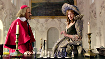 A still #10 from The Three Musketeers with Milla Jovovich and Christoph Waltz