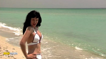 Still #1 from Bettie Page: Dark Angel