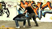 Still #4 from Street Defense: Stick, Street Cane, Makeshift Means