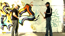 Still #5 from Street Defense: Stick, Street Cane, Makeshift Means