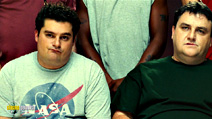 A still #19 from Delivery Man with Simon Delaney and Bobby Moynihan