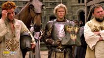A still #12 from A Knight's Tale (2001) with Mark Addy, Heath Ledger and Alan Tudyk