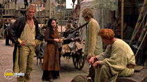 A still #15 from A Knight's Tale (2001) with Paul Bettany and Laura Fraser