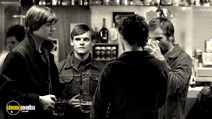 A still #16 from Control with James Anthony Pearson and Sam Riley
