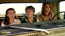 A still #19 from What's Eating Gilbert Grape? with Leonardo DiCaprio, Johnny Depp and Mary Kate Schellhardt