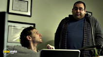 A still #15 from House of Cards: Series 2 with Sebastian Arcelus and Jonathan Marballi