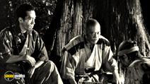 A still #17 from Seven Samurai with Takashi Shimura