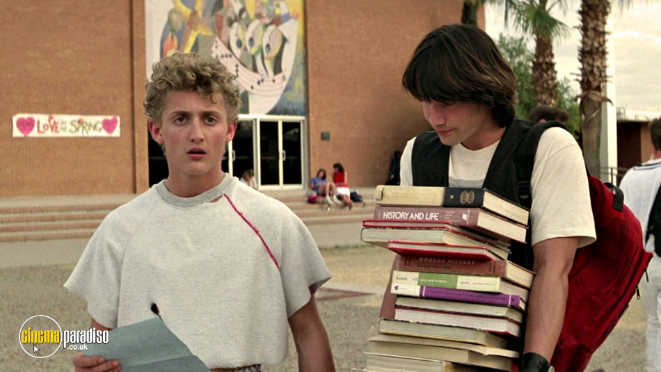 Bill and Ted's Excellent Adventure online DVD rental