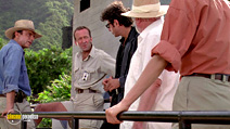 A still #14 from Jurassic Park with Bob Peck and Sam Neill