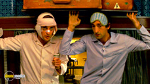 A still #18 from The Darjeeling Limited with Owen Wilson and Adrien Brody