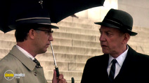A still #14 from JFK with Kevin Costner and Donald Sutherland
