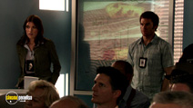 A still #15 from Dexter: Series 2 with Jennifer Carpenter and Michael C. Hall