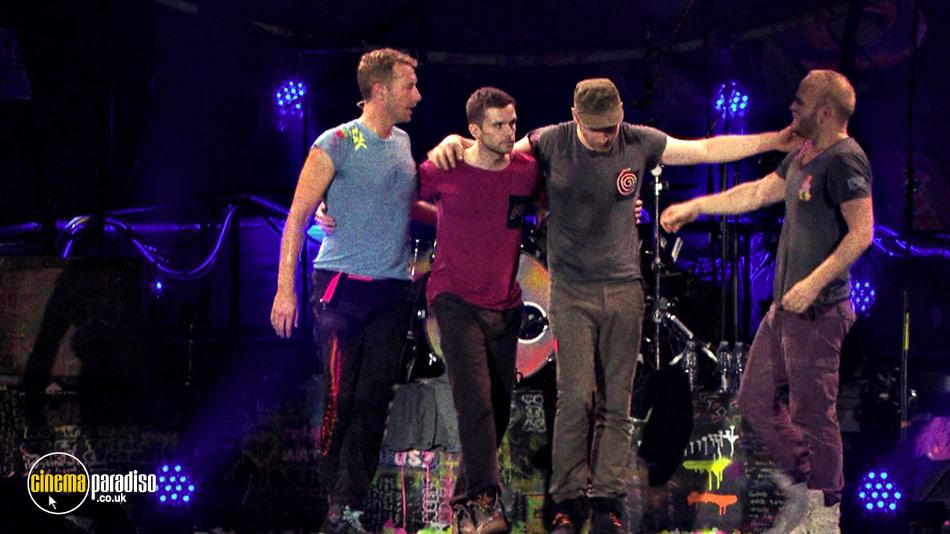 Coldplay: Live 2012 online DVD rental