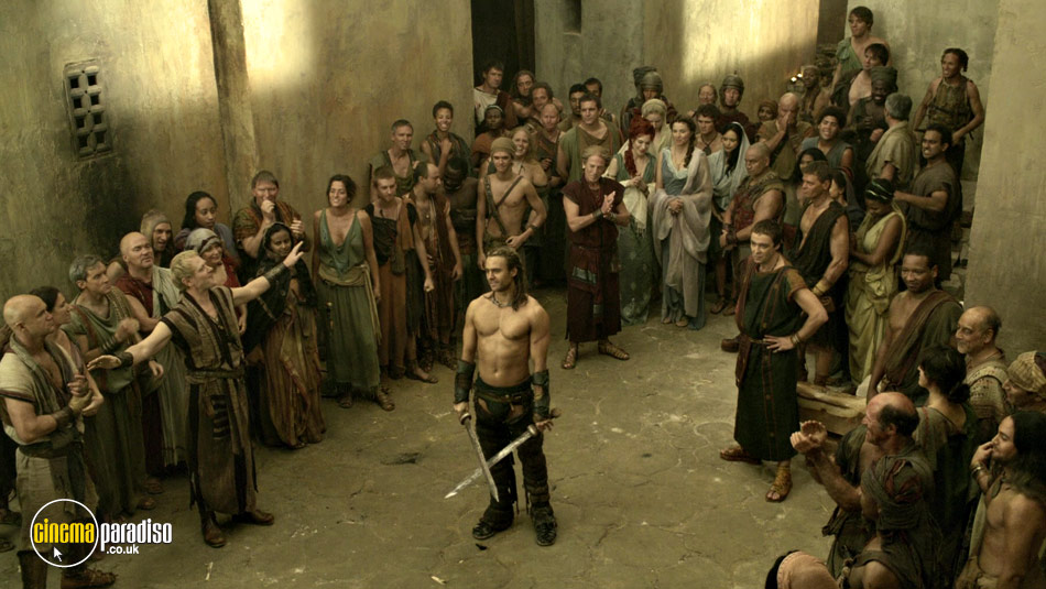 Spartacus: Gods of the Arena online DVD rental