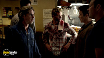 A still #20 from True Blood: Series 7 with Stephen Moyer, Ryan Kwanten and Sam Trammell