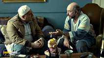 A still #14 from The Infidel with Richard Schiff and Omid Djalili