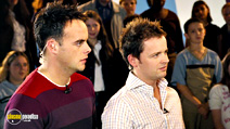 A still #13 from Love Actually with Declan Donnelly and Anthony McPartlin