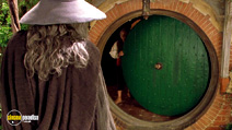 A still #18 from The Lord of The Rings: The Fellowship of The Ring with Ian McKellen and Ian Holm
