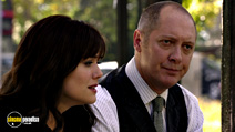 A still #19 from The Blacklist: Series 1 with James Spader and Megan Boone