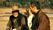 A still #9 from Unforgiven (2013) with Jun Kunimura and Ken Watanabe