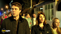 A still #18 from Broadchurch: Series 1 with Jodie Whittaker, Andrew Buchan and Charlotte Beaumont