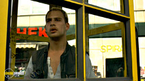 A still #16 from Run Lola Run with Moritz Bleibtreu