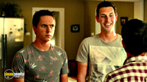 A still #13 from The Inbetweeners 2 with Joe Thomas and Blake Harrison