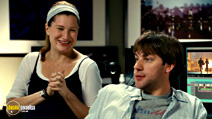A still #18 from The Holiday with Kathryn Hahn and John Krasinski
