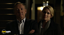 A still #18 from House of Cards: Series 1 with Kevin Spacey and Robin Wright
